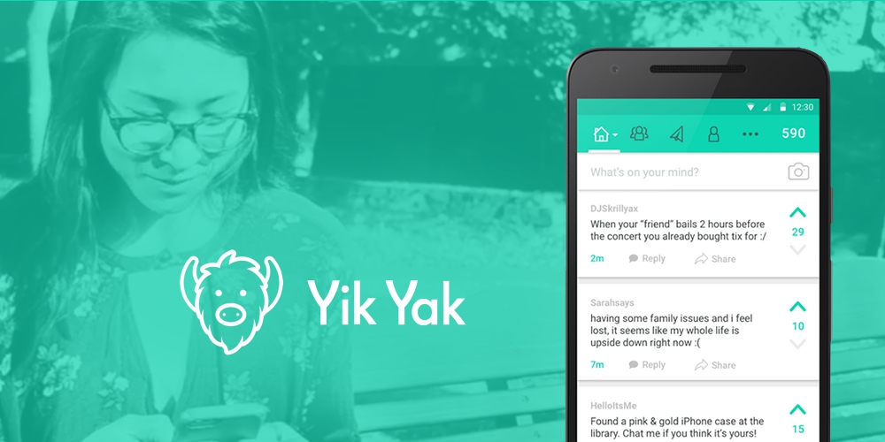 Yik Yak as a Therapist and as a Friend