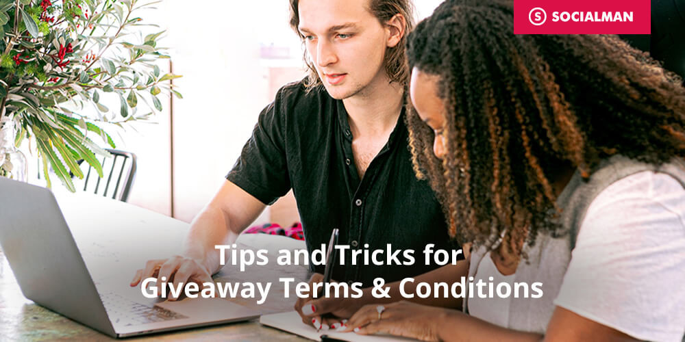 Tips and Tricks for Giveaway Terms & Conditions