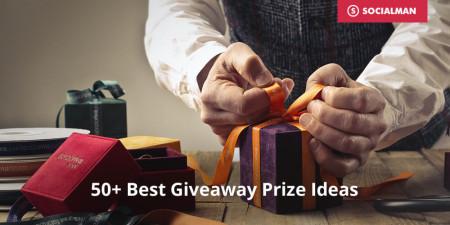 50+ Best Giveaway Prize Ideas