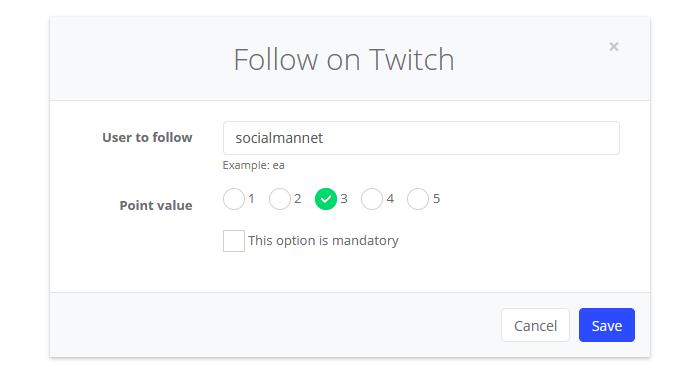 Follow on Twitch