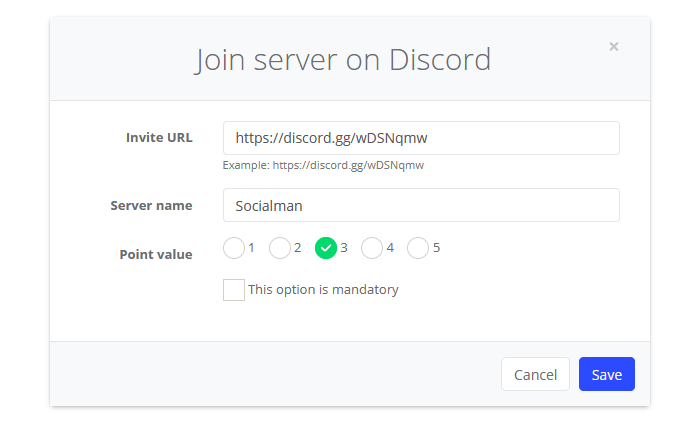 Join server on Discord